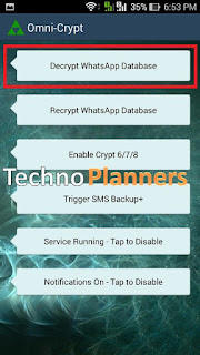 decrypt Whatsapp database crypt8 without Key Online