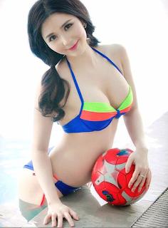 Gái xinh Thanh Bi lộ núm Xinhgai.biz