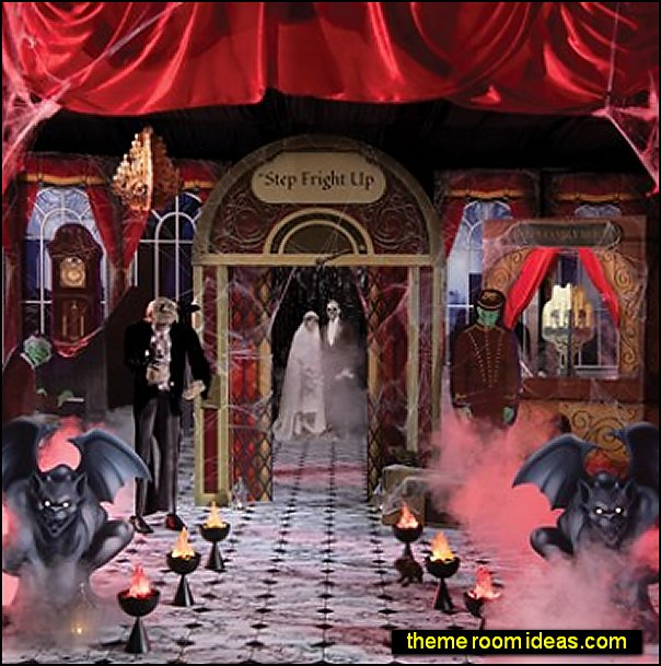 HAUNTED HOTEL THEME KIT halloween party props halloween decorating halloween party decorations