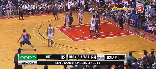 TNT def. Ginebra, 103-96 (REPLAY VIDEO) Semis Game 2 / October 4
