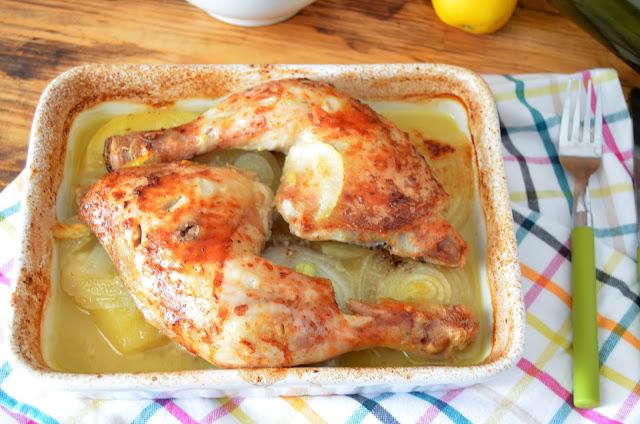 pollo al microondas, pollo con patatas asadas en el microondas, pollo recetas, recetas de pollo, recetas en el microondas, recetas microondas, las delicias de mayte,