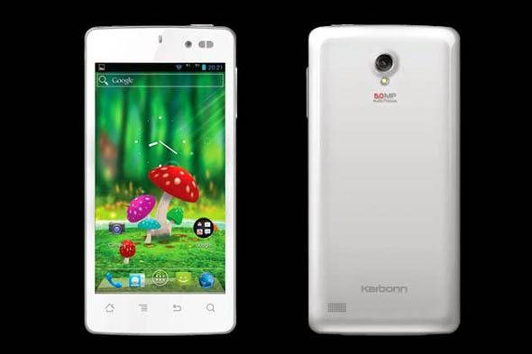 Smartphone Android Quad Core Karbonn S1 Titanium