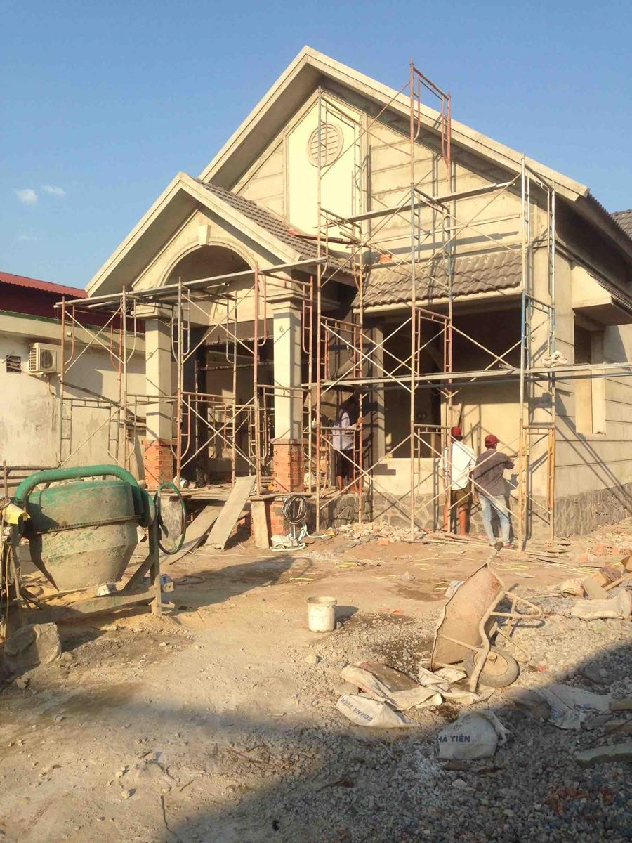 Thiết kế và xây nhà trọn gói mr. Thái