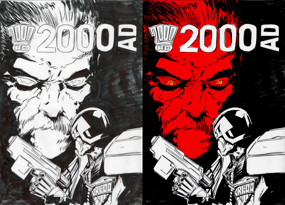 2000AD Covers Uncovered: Ben Willsher - Gas Attack!