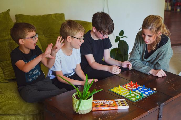 toffifee, games night, family fun