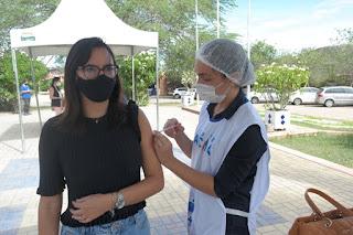 Começa vacinação dos profissionais do Campus Cuité da UFCG contra Covid-19
