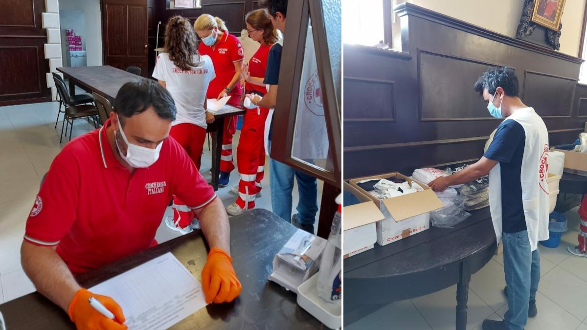 Servizio bagni e docce Clochard senza tetto senza fissa dimora Salesiani Croce Rossa