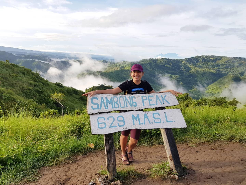 Sambong Peak or Heart Peak Hiking Mt. Kulis in Tanay Rizal Philippines