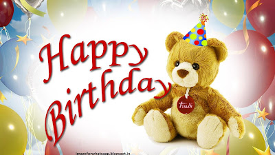 Happy Birthday Wise With Cute Teddy