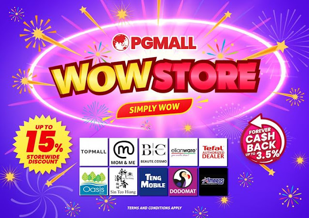wow store pg mall