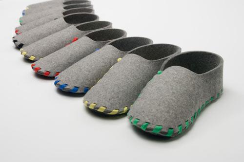 Pantuflas armables muy ingeniosas