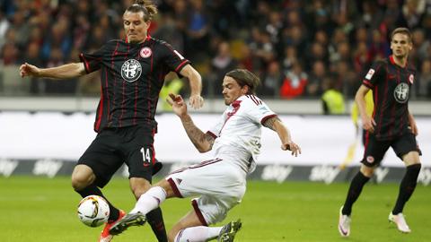 Trận chiến của CLB Nurnberg và CLB Eintracht Frankfurt