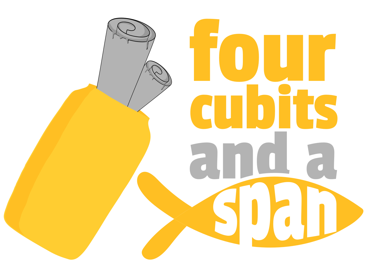 Full logo for four cubits and a span website