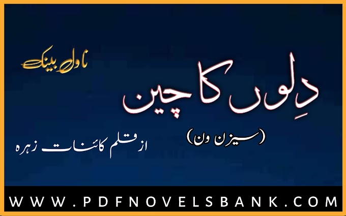 Dilon Ka Chain Novel by Kainat Zehra Season 1 Complete Pdf