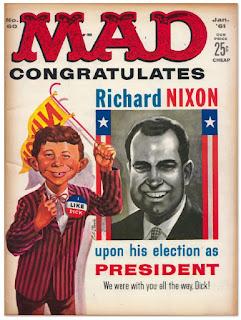 MAD revista umor Nixon 1961