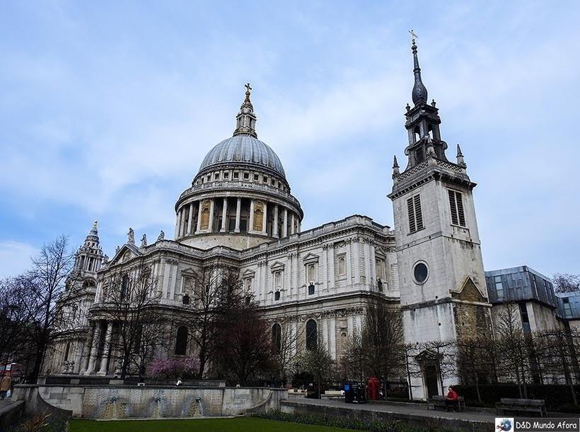 Catedral de St. Paul - O que fazer em Londres: 48 atrações imperdíveis