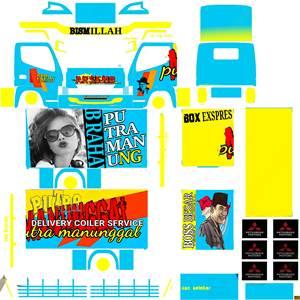 Livery Truck Canter Box Muhklas Putra Maung