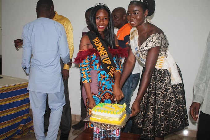 """Photos: Miss Metro Tema 1st Runner-up, Queen Tina Launched """"Living A Life of Cleanliness, (LALOC) Project"""