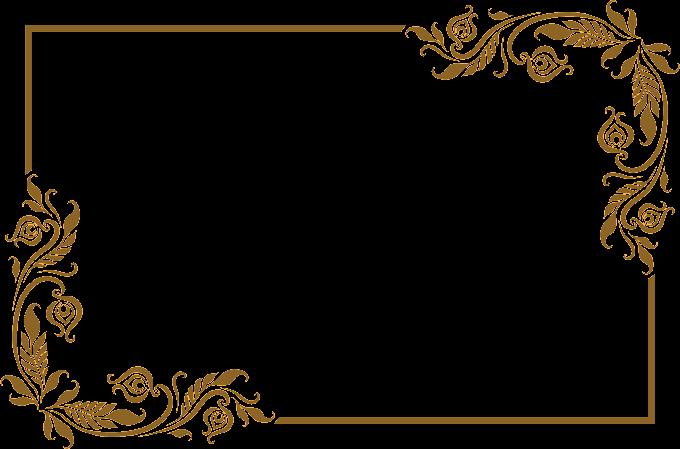 Frame, Lovely old golden frame, brown leaves frame, love, frame, golden Frame png free png