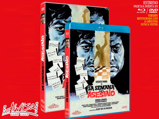 A la venta en DVD y Blu-ray 'La semana del asesino' con metraje inédito