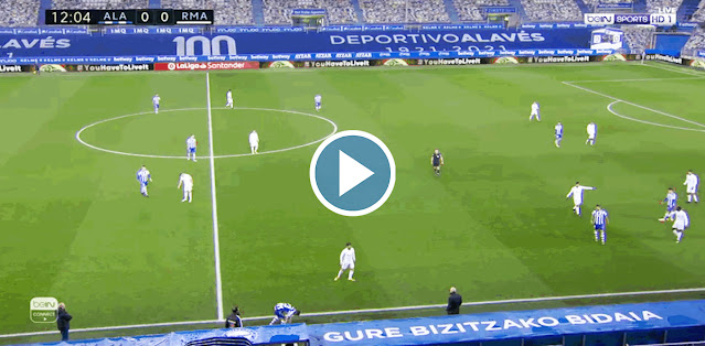 Deportivo Alavés vs Real Madrid Live Score