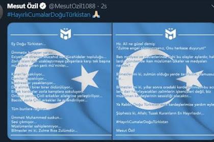 Mesut Ozil: Etnis Uighur Dianiaya Cina, Alquran Dibakar, Muslim Diam Saja
