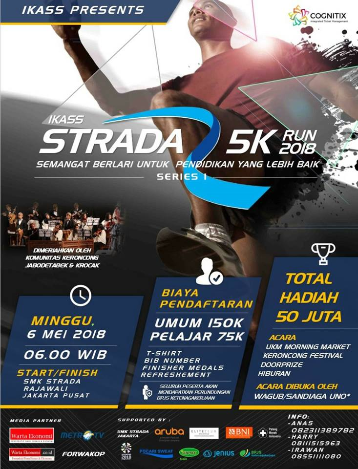 Strada 5K Run - Series 1 • 2018