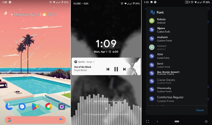 Demonstração da ROM EvolutionX 2.0 para Xiaomi Redmi 5A - Android 9