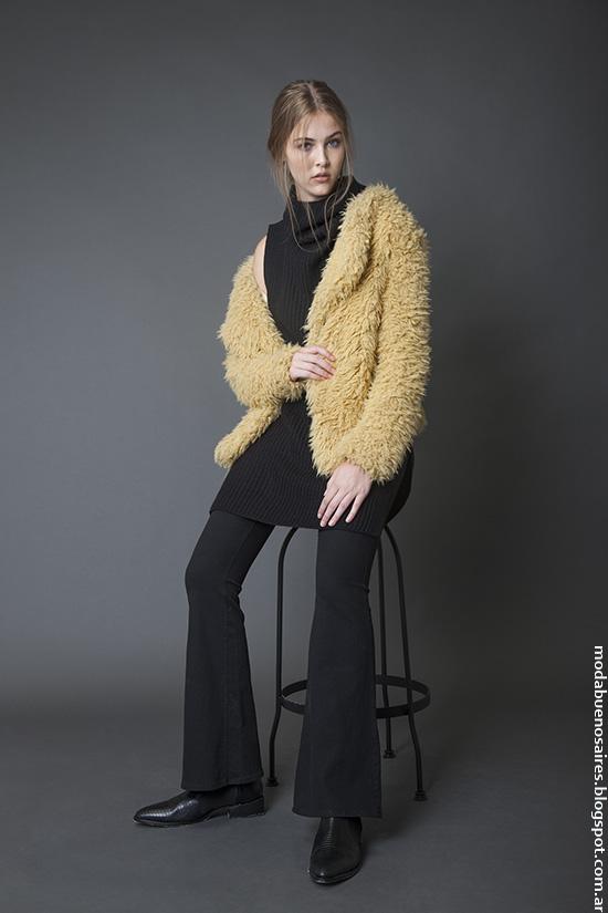 Tapados invierno 2016 ropa de mujer Bled. Moda invierno 2016 mujer.