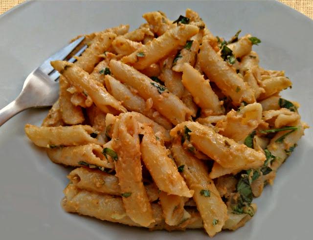 Rigatoni, Pasta. Peanut Butter, Sauce. Lemon, Recipe