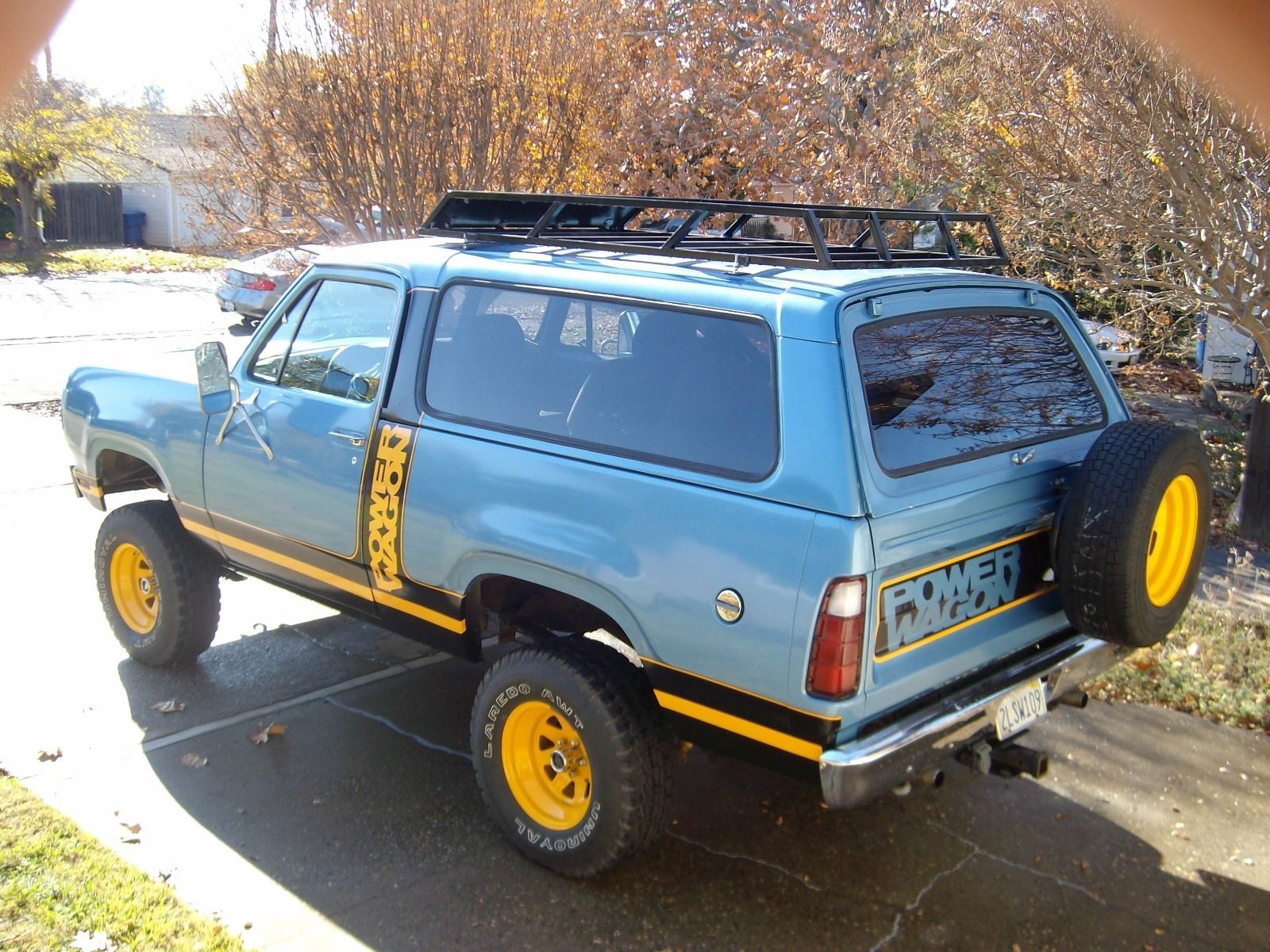 se sale for packages other dodge prospector ramcharger equiped with
