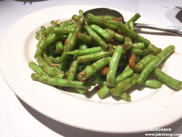 蝦醬四季豆