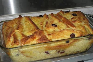 Old-Fashioned Bread and Butter Pudding