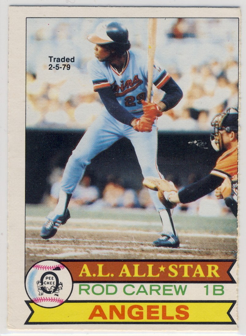 Cards That Never Were: 1979 Topps Rod Carew