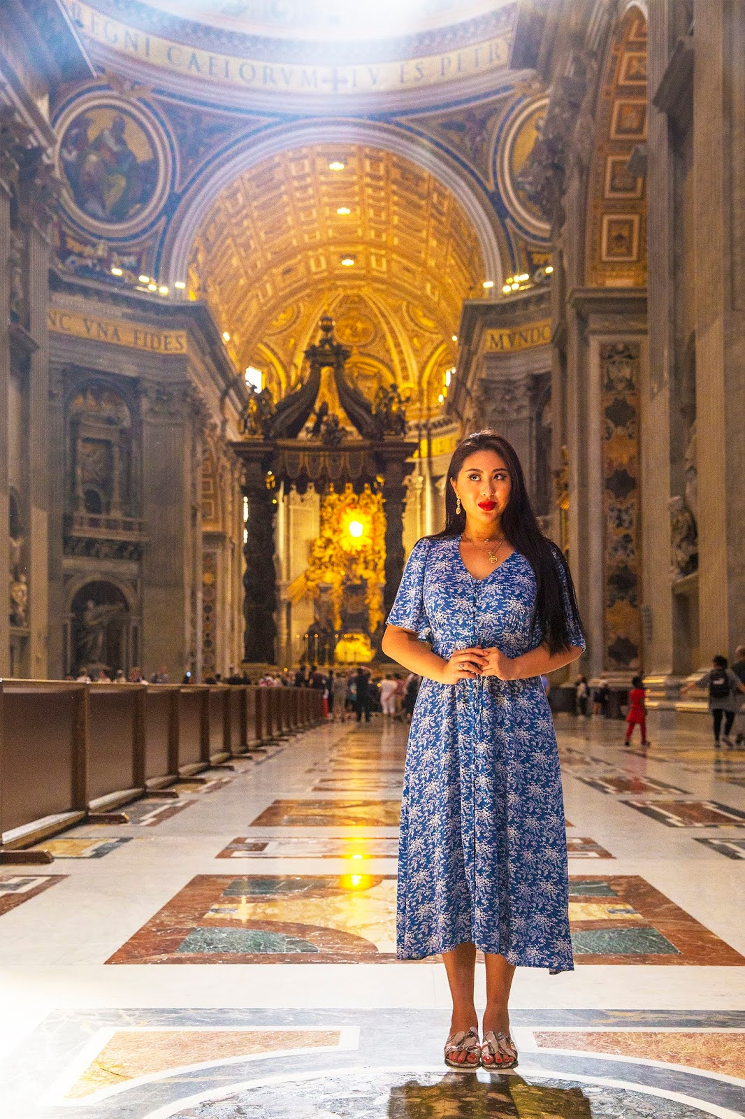 Rome, Italy by Posh, Broke, & Bored - St Peter's Basilica