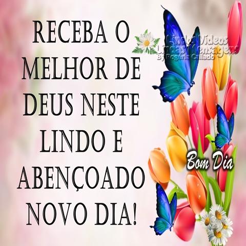 Receba o melhor  de Deus neste lindo  e abençoado  novo dia!  Bom Dia!