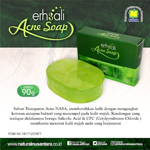 eRHSALI ANTI ACNE FACIAL SOAP