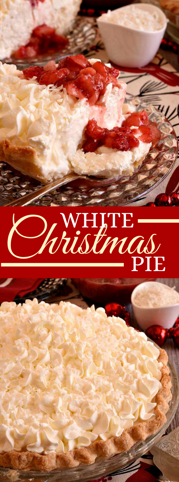 White Christmas Pie #desserts #tarts