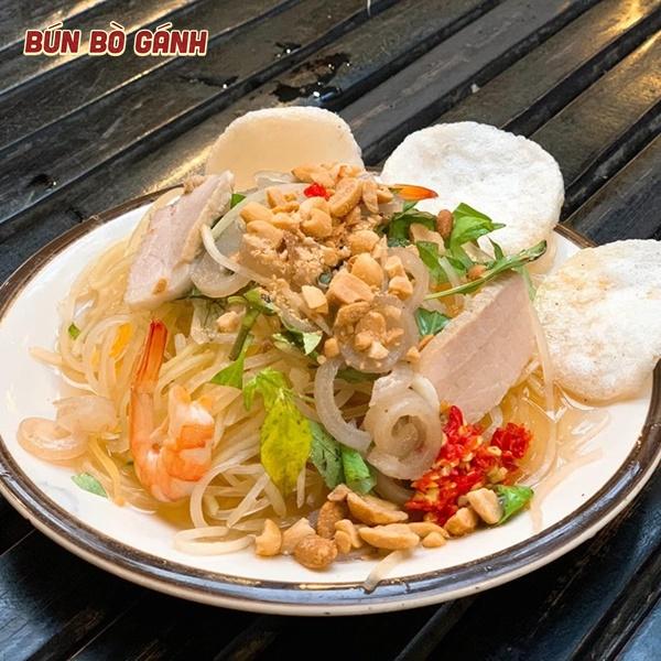 Gỏi Đu Đủ Tôm Thịt - Vietnamese Green Papaya Salad With Shrimp & Pork