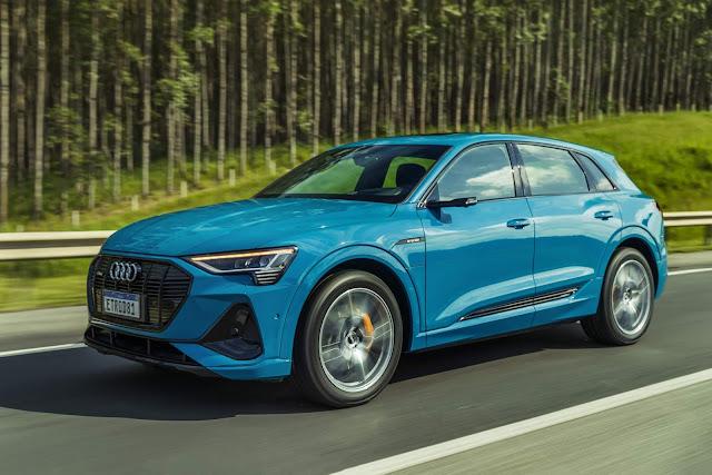 Novo Audi e-Tron - Brasil