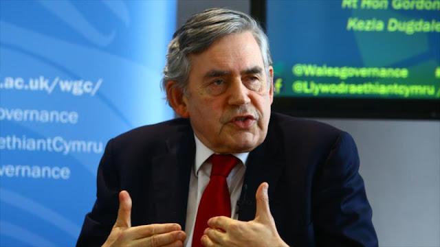 Gordon Brown: EEUU engañó a Londres sobre la invasión de Irak