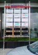 290870420871 thumb Cột cờ inox 304 cao 9m 10 m 11m 12m, cổng xếp inox 304 , cổng xếp sắt không ray kéo tay