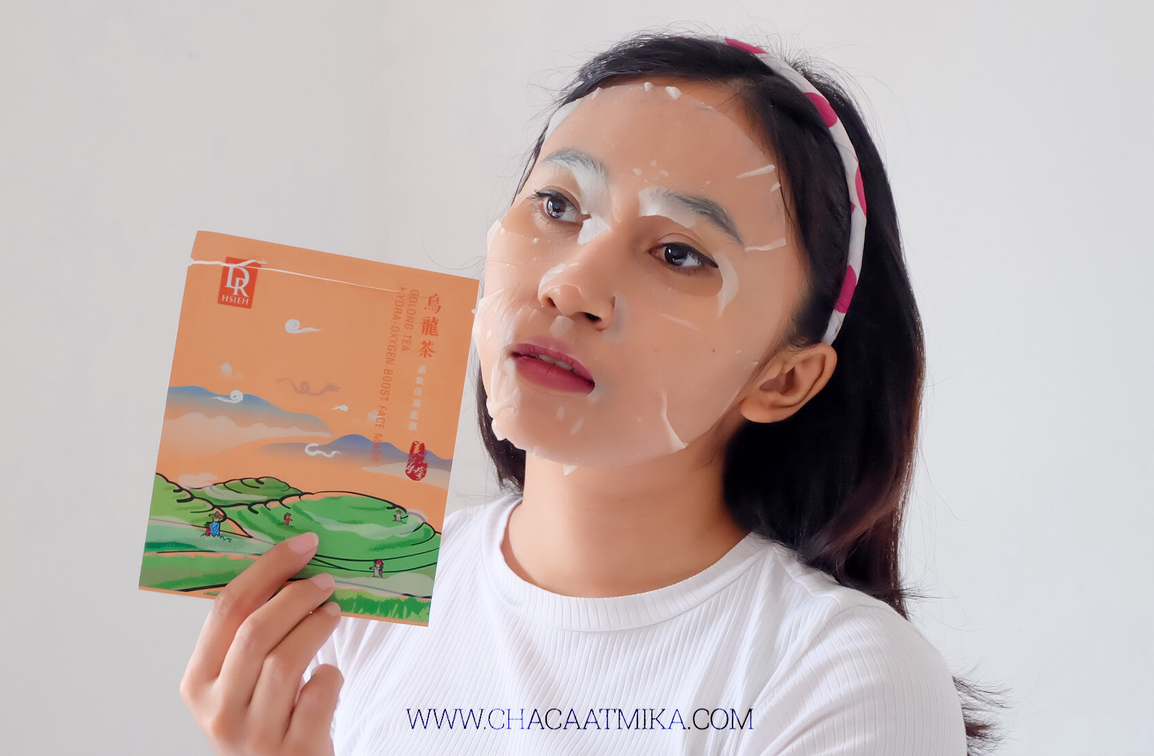 Review Oolong Tea Hydra-Oxygen Boost Face Mask