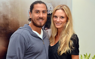 Fabiana with her boyfriend Guillermo smiling for the camera