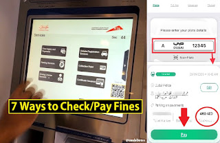 Dubai Traffic Fines, Dubai Fines, RTA Fines Inquiry