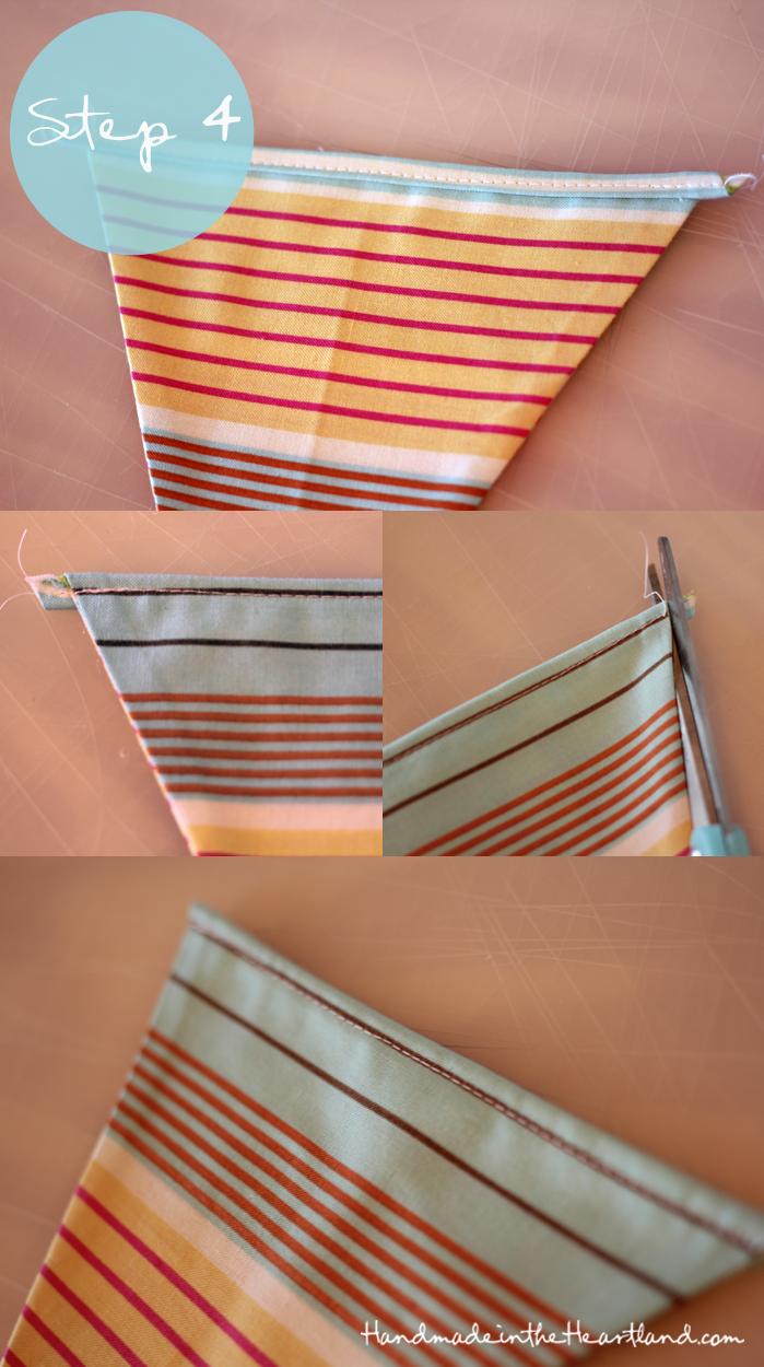 DIY Easy Sew Pennant Banner