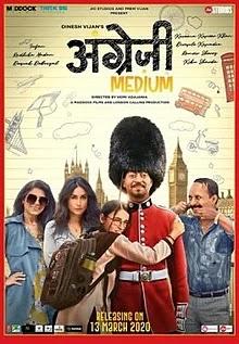 Angrezi Medium (2020) Hindi Full Movie Download mp4moviez