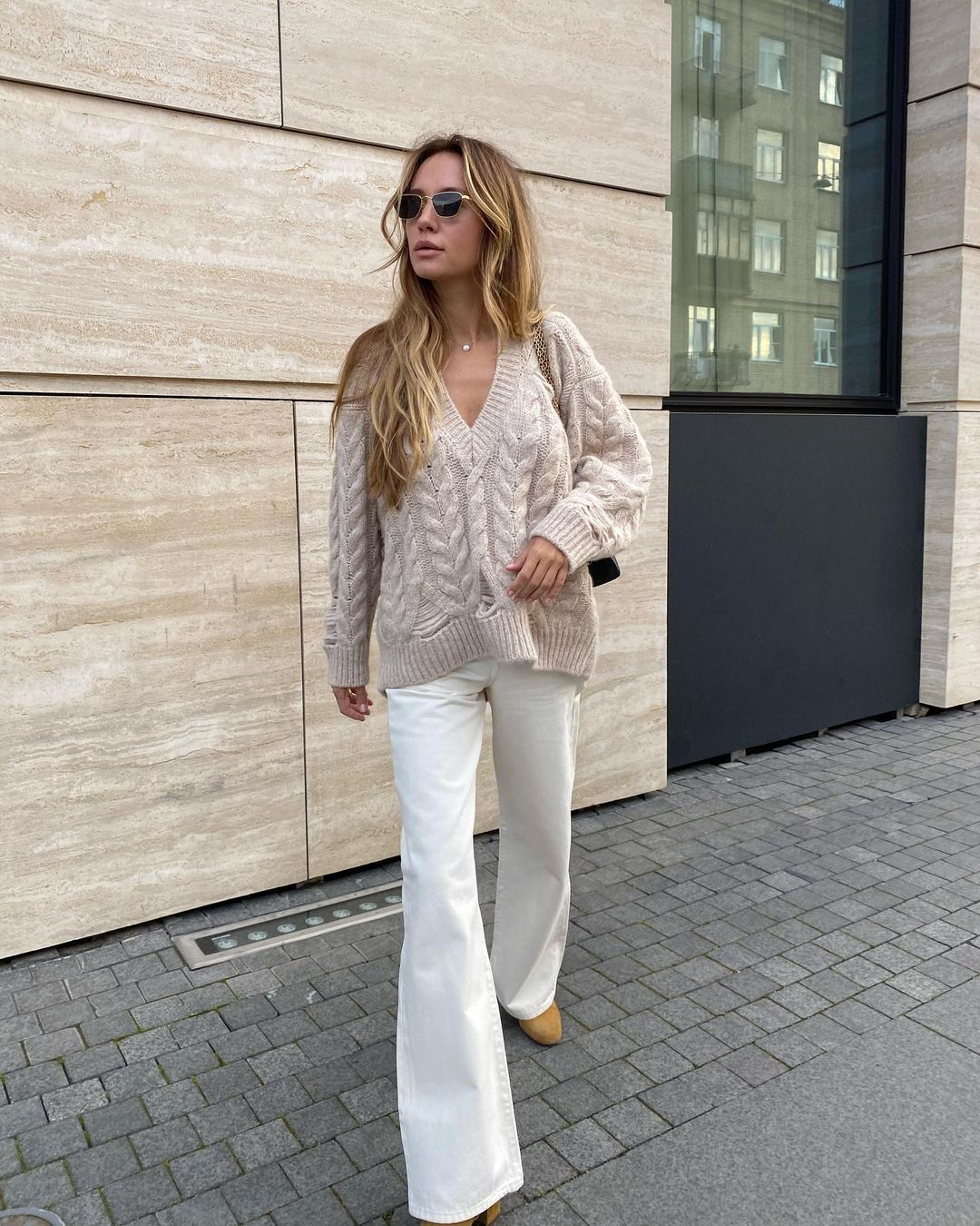 A Neutral Sweater is a Fall/Winter Must-Buy