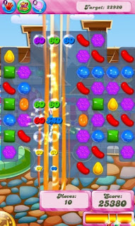 Candy crush saga scores