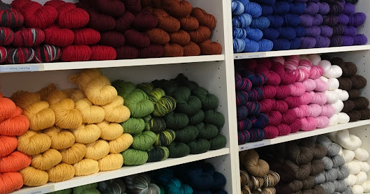 Yarn On The Shelf & How It Speaks!